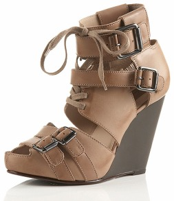 PACE Buckle Wedges//Topshop