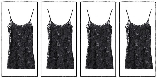 Lace top, H&M