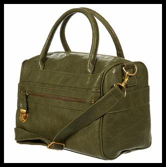 Pushlock Zip Holdall Bag//Topshop