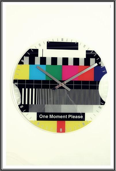 Printed Clock//UO