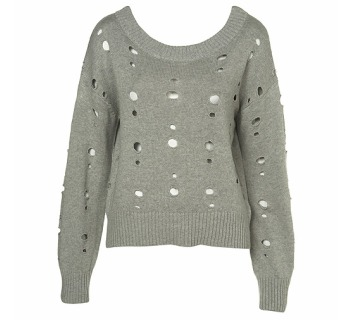Knitted Hole Jumper