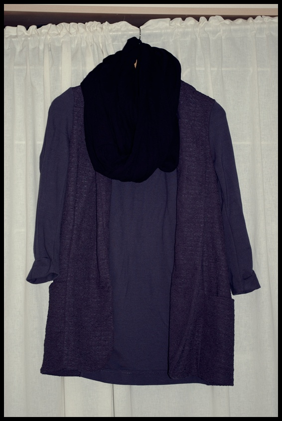 Snood: H&M//Blazer: River Island//